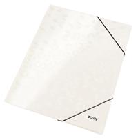 Kulmalukkosalkku Leitz WOW A4 valkoinen
