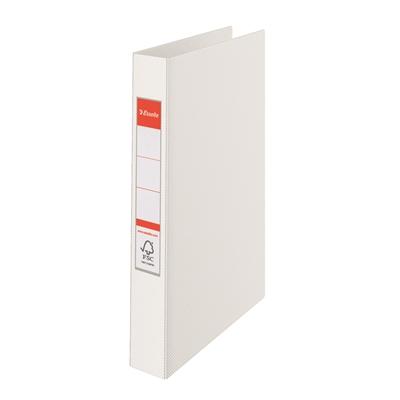 Rengaskansio 2RR/25 A4 25mm valkoinen