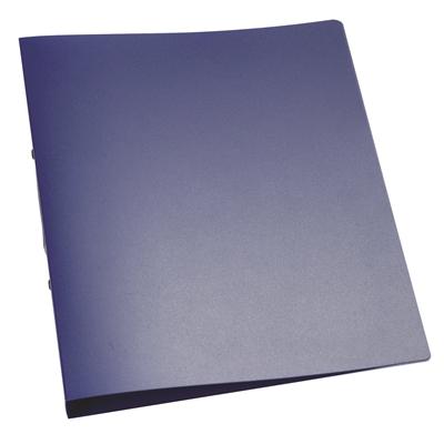 Rengaskansio Q-Connect A4 25mm PP frost sininen