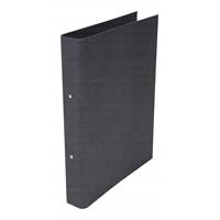 Rengaskansio Bigso Ringo C68 musta - uusiutuvista kierrätettävistä materiaaleista