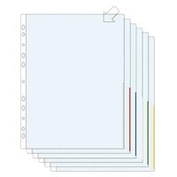 Signaalitasku A4 PP170 appelsiinipinta vihreä/100 kpl