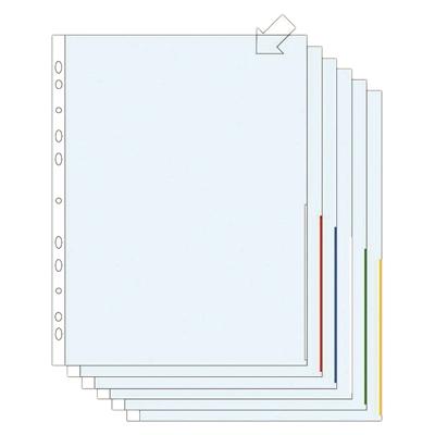 Signaalitasku A4 PP 105 keltainen/100 kpl