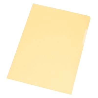 Muovitasku Q-Connect A4 PP120 LPS/10 keltainen