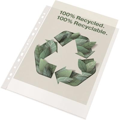 Kansiotasku Leitz Recycle Maxi A4 PP100 LS/50 - kierrätysmateriaalista, täysin kierrätettävä