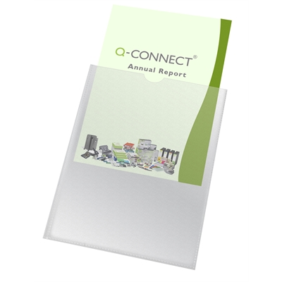 Muovitasku Q-Connect A4 PP 150 LS/100