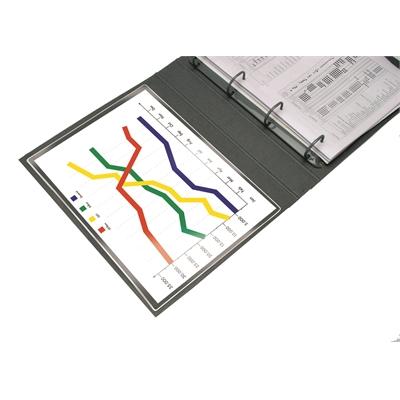 Tarratasku Q-Connect A4 220x305 LS/5 kpl pussi