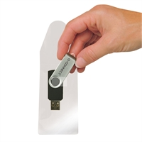 Tarratasku Q-Connect USB-muistitikulle itseliimautuva/10