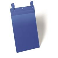Varastotasku kiinnityslenkkeillä A4 pysty sininen /50 kpl ltk