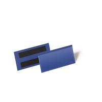 Varastotasku magneettiliuskoilla 100 x 38 mm sininen /50 kpl ltk