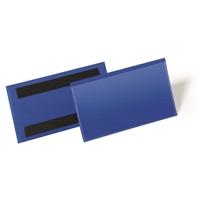 Varastotasku magneettiliuskoilla 150 x 67 mm sininen /50 kpl ltk