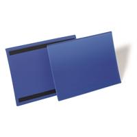 Varastotasku magneettiliuskoilla A4 sininen /50 kpl ltk