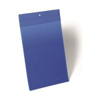 Varastotasku vahvat magneetit A4 pysty sininen/10