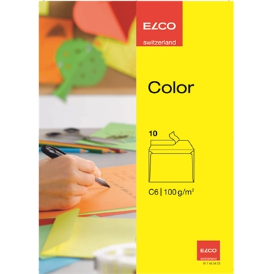 Tarrakuori Elco Color C6 ST keltainen/10