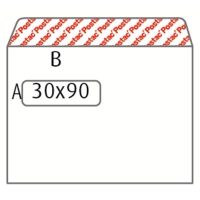 Ikkunakuori E5 RHST tarra valkoinen/25