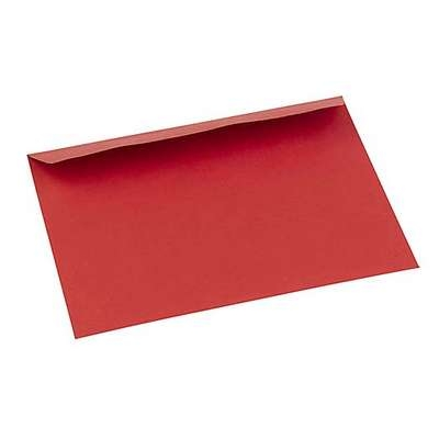 Kirjekuori  C6PB/20kpl kirkas punainen