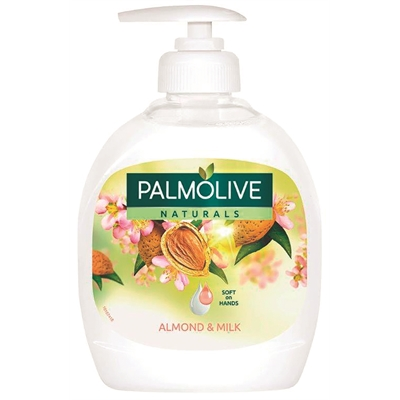 Nestesaippua Palmolive milk almond 300ml