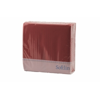 Lautasliina Softlin Classic 39 cm punainen/100