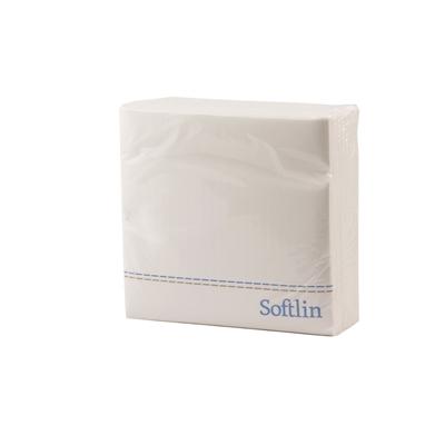 Lautasliina Softlin Classic 39 cm valkoinen/100