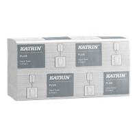 Käsipyyhe Katrin Plus C-Fold 2 valkoinen /24 pkt säkki - kotimainen hygieeninen käsipyyhe