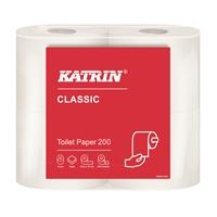 Wc-paperi Katrin Classic Toilet 200 valkoinen /40 rll - kotimainen laadukas wc-paperi