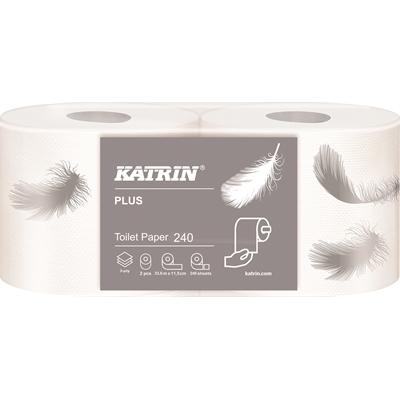 Wc-paperi Katrin Plus Toilet 240 valk/48
