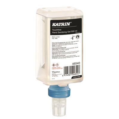 Käsihuuhde Katrin Touchfree Hand Sanitizing Gel 500 ml - kotimainen ihoystävällinen käsidesi
