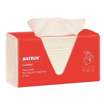 Käsipyyhe Katrin Classic Non Stop M2 Easy Pick /8 pkt säkki - hygieeninen, automaattinen annostelu