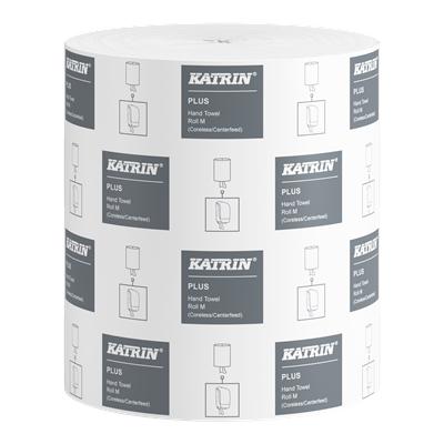 Vetopyyhe Katrin Plus Hand Towel Roll M valkoinen/6 rll hyls