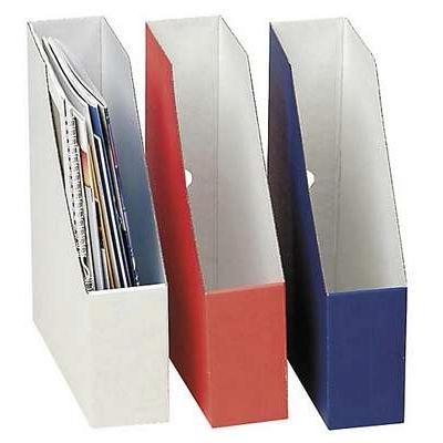 Lehtikotelo Maxibox A4 miniaaltopahvi valkoinen