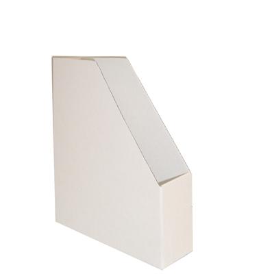 Lehtikotelo Ecobox pahvi valkoinen/3