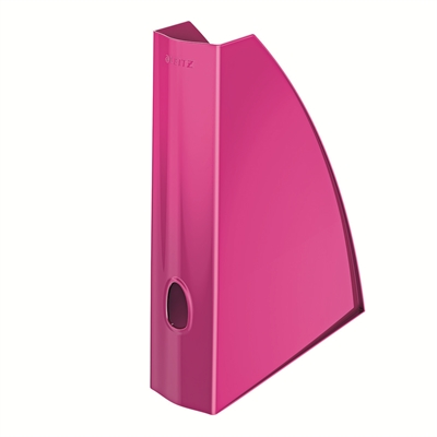 Lehtikotelo Leitz Plus WOW A4 pinkki