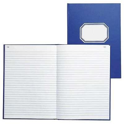 Konttorikirja 361 A4/192 viivat numeroitu sininen