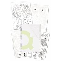 Muistikirja Q-Connect Anti-Stress A5/60+3 lehteä
