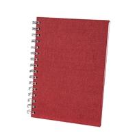 Muistikirja Bigso A5/90 C24 punainen
