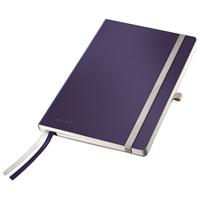Muistikirja Leitz Style A5/80 pehmeä kansi viivat sininen
