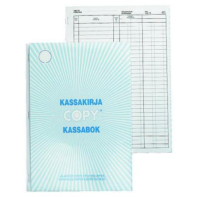 Kassakirja 502 A4/50+50 2-tili numeroitu jäljentävä paperi