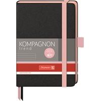 Muistikirja Kompagnon Trend A5/192 pinkki