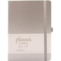 Muistikirja Planner A5/96 hopea