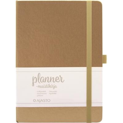 Muistikirja Planner A5/96 kulta