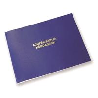 Ajopäiväkirja 186 A5L/32 vapaa autoetu