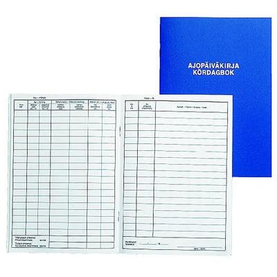 Ajopäiväkirja 184 A6 /32 vapaa autoetu