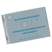 Kuittilomake 600L A6 vaaka/50+50 suomi / ruotsi / englanti