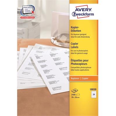 Kopiotarra Avery 18030 70x36/2400