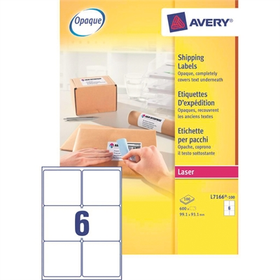Lasertarra Avery L7166-100 99,1x93,1/600