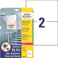 Lasertarra antibakteerinen Avery L8002-10 210x148 Valkoinen