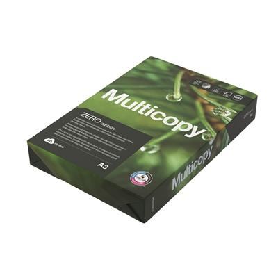 Kopiopaperi Multicopy Zero A3 80g/500 - ympäristöystävällinen ja hiilineutraali kopiopaperi