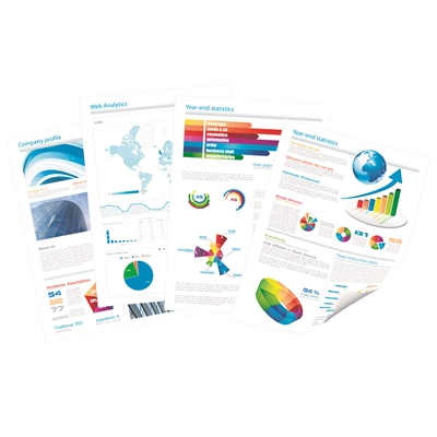 Värikopio- ja laserpaperi Q-Connect A4 100g/500