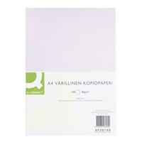 Kopiopaperi Q-Connect A4 80g valkoinen/100 arkkia