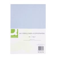 Kopiopaperi Q-Connect A4 80g vaaleansininen/100 arkkia