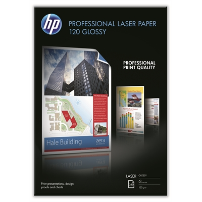 Photopaperi laser HP CG969A glossy A3 120g/250